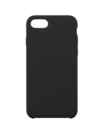 Чехол для iPhone InterStep для iPhone 8 IS SOFT-T METAL ADV черный